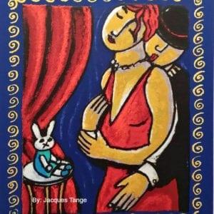 By Jacques Tange Silkscreen Original
