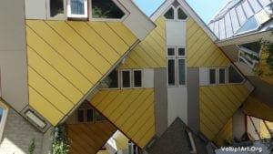 Casas Cúbicas Rotterdam