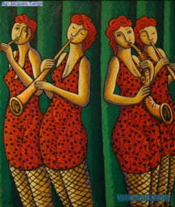 Band of Sisters by Jacques Tange