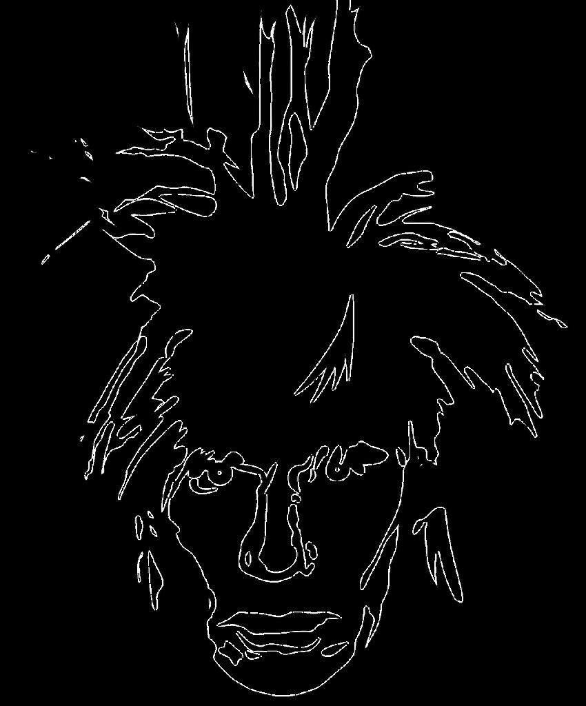 Andy Warhol. Cortesía de Clipart vía pixabay