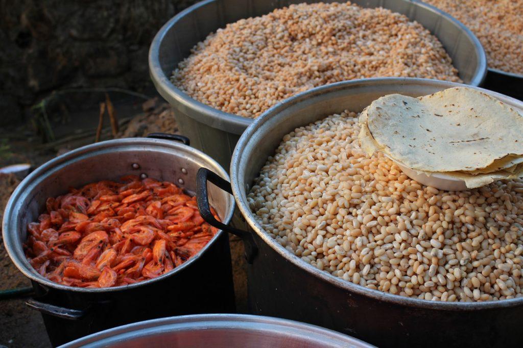 Comida de Oaxaca. Cortesía de Rebeca Cruz vía Pixabay