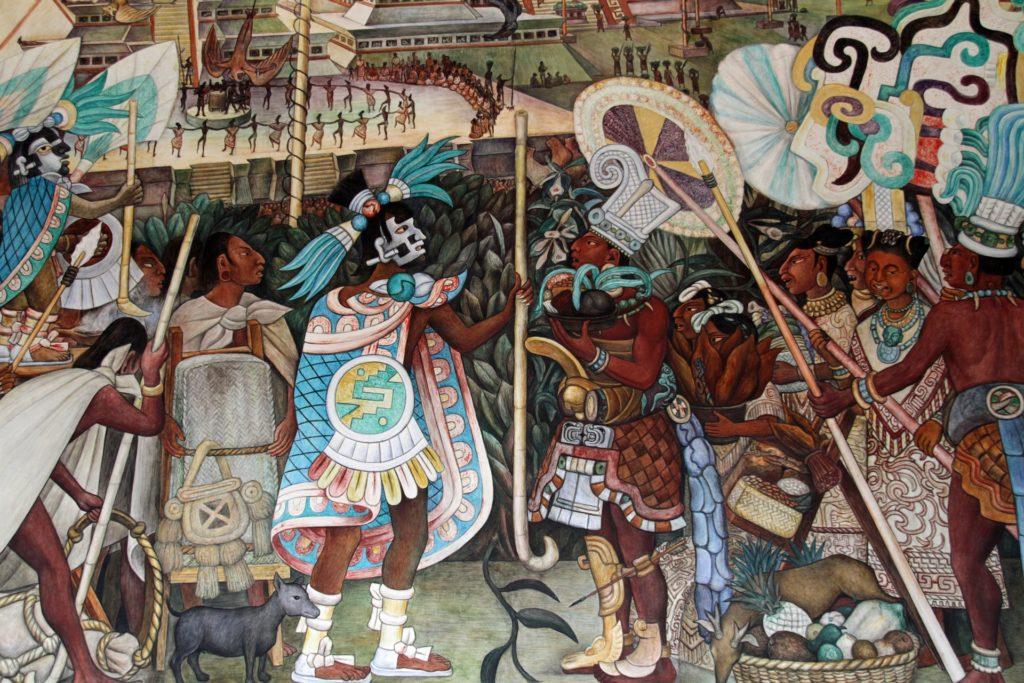 Mural de Diego Rivera por Monica Volpin vía Pixabay