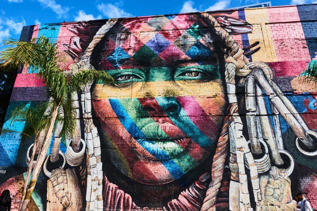 Graffiti en Río d Janeiro. Vía Pixabay