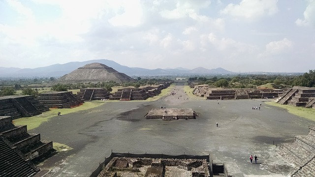 Teotihuacan from Pixabay