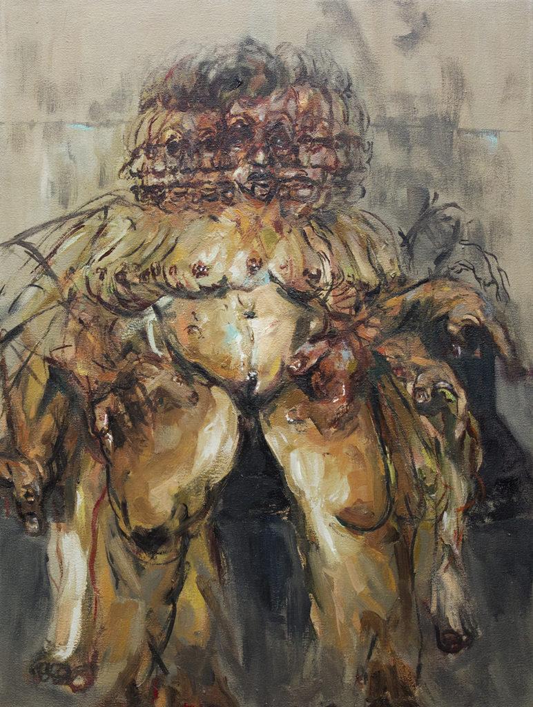 Oil on canvas by Nizaac Vallejo