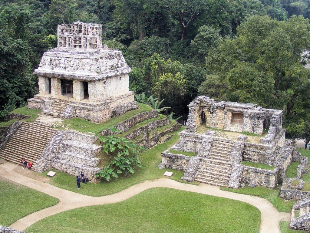 Palenque. Imagen de Aline Dassel en Pixabay