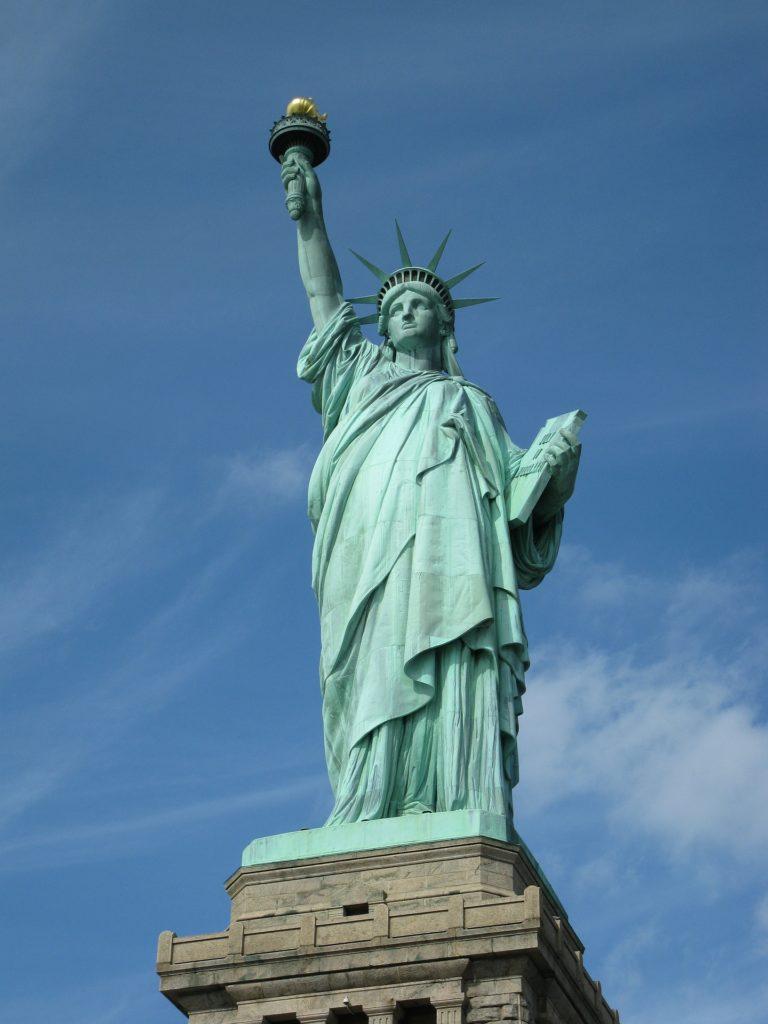 Estatua de la Libertad. Vía Pixabay