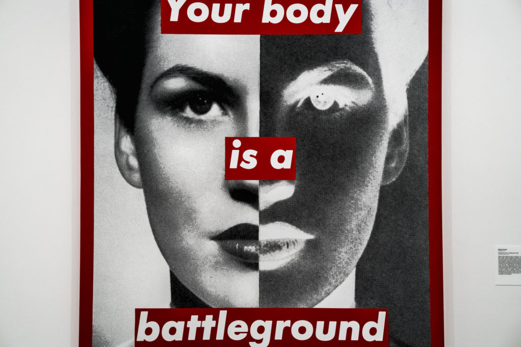 """""""Your body is a battleground"""". Image by Billie Grace Ward from Flickr"""