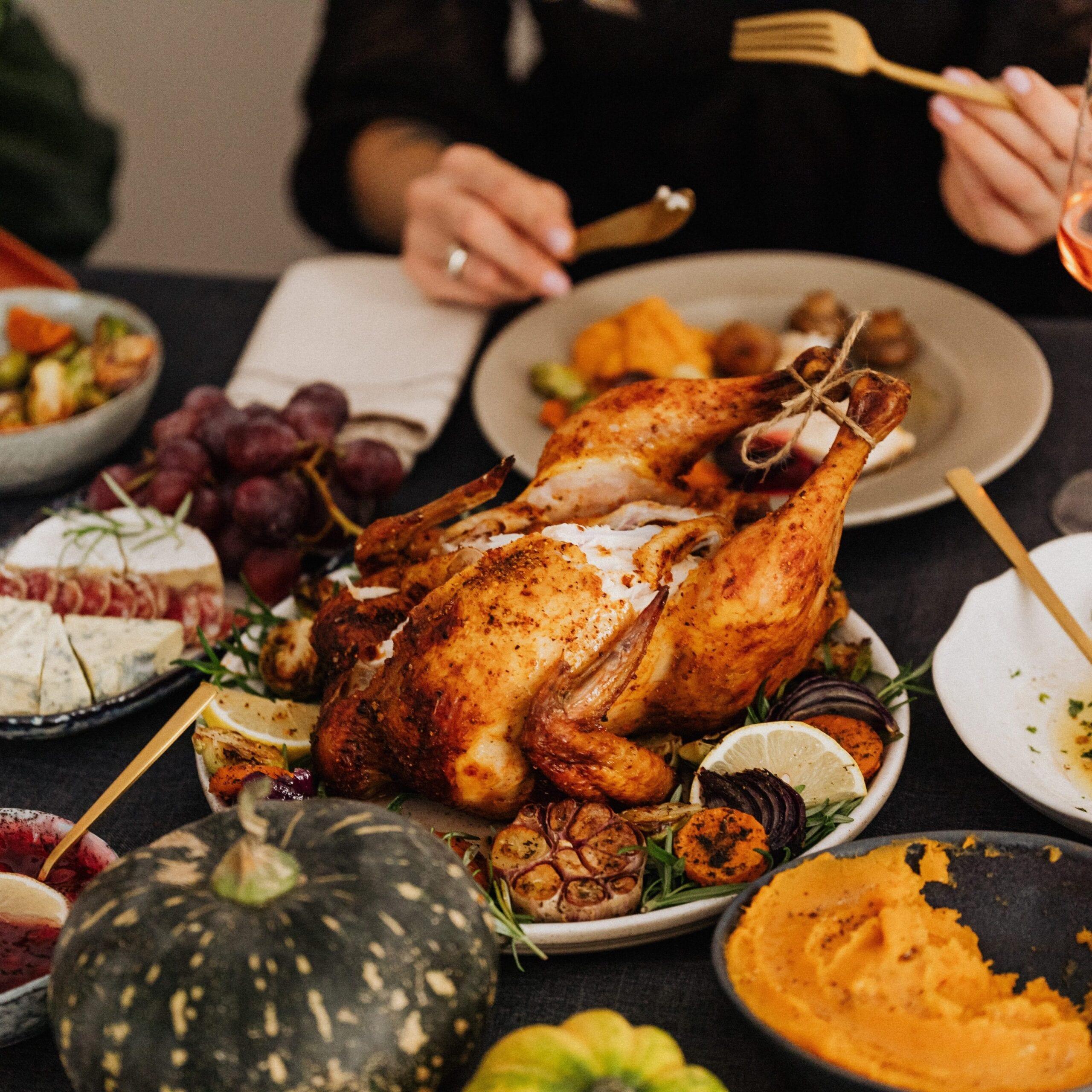 Cena del Día de Acción de Gracias. Foto de Karolina Grabowska en Pexels