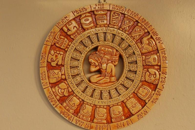 Calendario maya. Imagen de Eumaliz De Jesus vía flickr