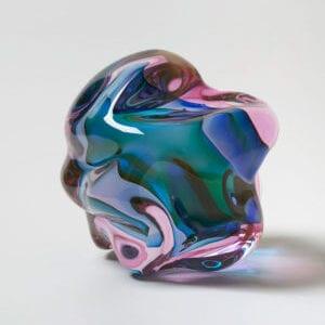 Escultura de Flaviie Audi, una de las artistas más importantes de vidrio soplado