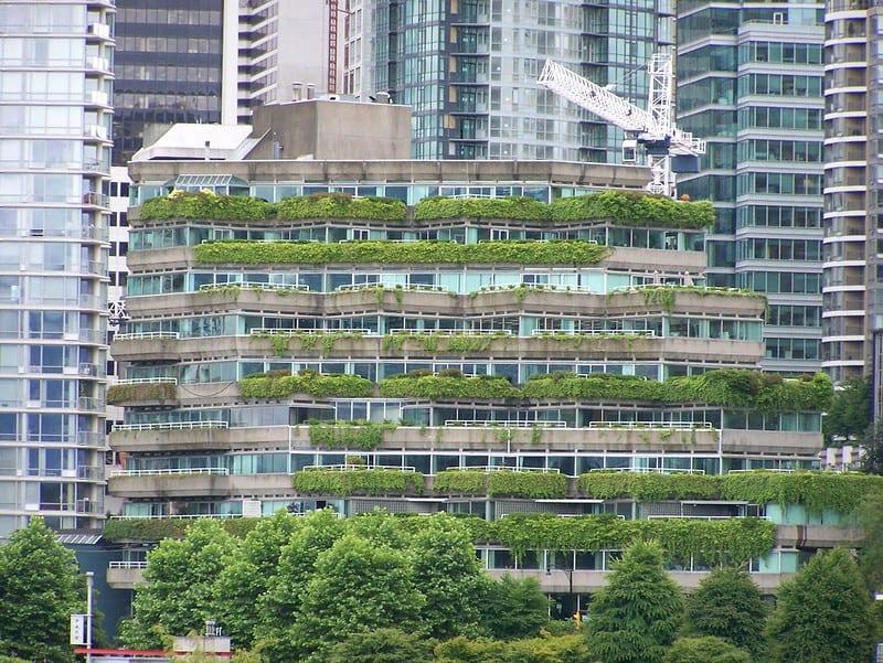 Azoteas verdes en Vancouver. Imagen de NNECAPA Photo Library en Flickr