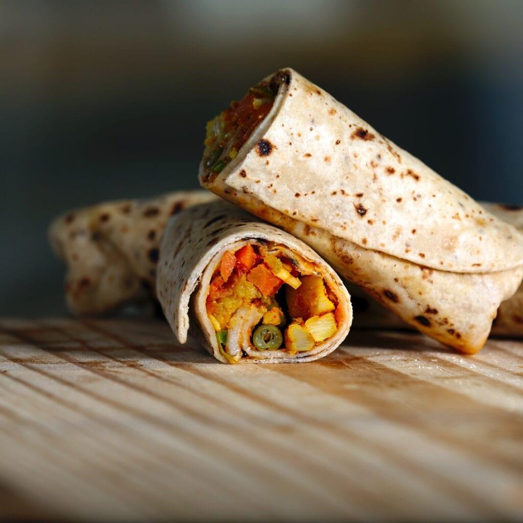 Burritos. Imagen de Nishant Aneja en Pexels