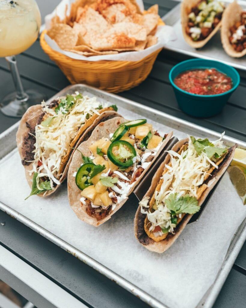 Tacos tex-mex. Imagen de  Spencer Davis en Unsplash