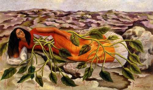 Raíces de Frida Kahlo. Imagen vía La Jornada