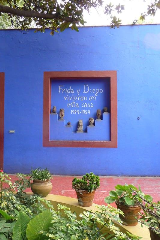 La casa azul. Imagen de Jen Wilton vía flick