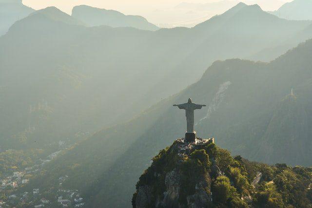 Cristo Redentor, Río de Janeiro. Imagen de Raphael Nogueira en Unsplash