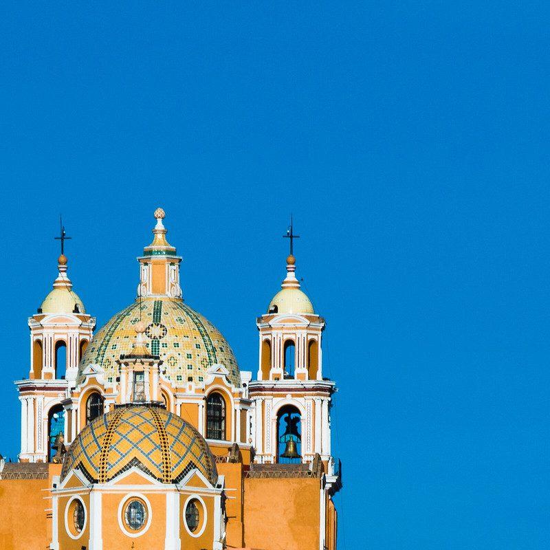 Santuario de Nuestra Señora de los Remedios. Imagen de Abraham Piña vía Flickr