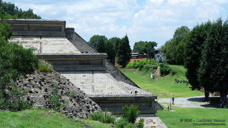 Zona arqueológica en Cholula. Imagen de Anthony Surace vía Flickr